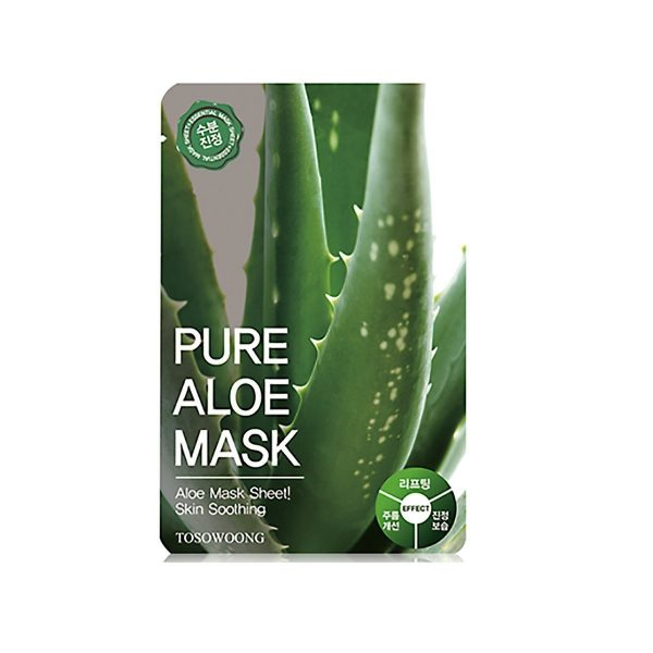 Tosowoong-Pure-Aloe-Mask-Sheet-Soothing-Mask-10pcs-23g